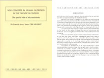 1992: New Concepts in Human Nutrition in the Twentieth Century; The Special Role of Micronutrients - PDF