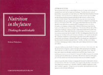 1997: Nutrition in the future: thinking the unthinkable - PDF