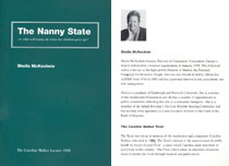 1998: The Nanny State: what will Nanny do when we grow up? - PDF