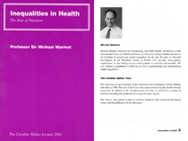 2001: Inadequacies in Health - The Role of Nutrition - PDF