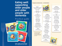 Eating well for older people with dementia - Practical resource - PDF
