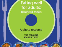 Eating well for Adults: Balanced meals photo resource
